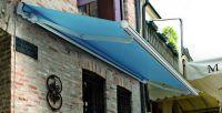 Gelenkarmmarkise-Blau