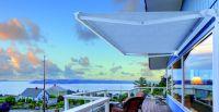 Kassettenmarkise-Sonnenuntergang-Balkon