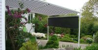 Wintergartenmarkise-Garten